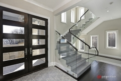 1 - Interior & Exterior Glass Panels HL Stairs Inc.