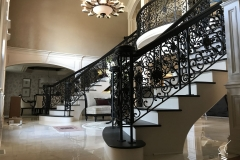 HL Stairs - Custom Iron Railing in Palos Park