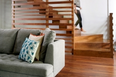 WALNUT STAIRS AND SLIDE HYBRID HL Stairs