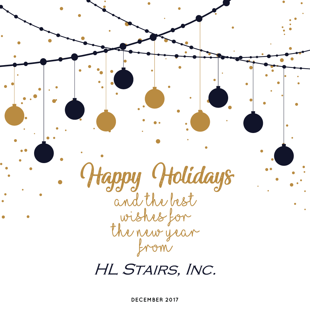 HL Stairs Inc holiday wishes